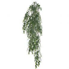 Kunstig eucalyptus hengeplante støvgrå L84cm u/potte