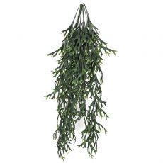 Kunstig hjortebregne hengeplante grønn L85cm u/potte