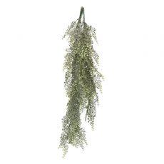 Kunstig slør delicious hengeplante støvgrønn L90cm u/potte