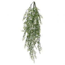 Kunstig perle hengeplante L80cm u/potte