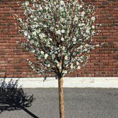 Kunstig kirsebærtre wood creme H210cm