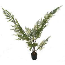 Kunstig bregne plante grønn H100cm