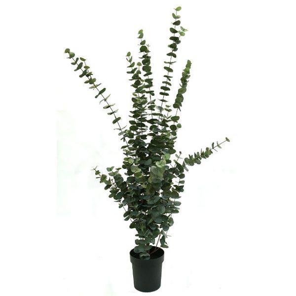 Kunstig eucalyptus plante H160cm