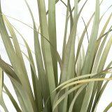 Kunstig gress plante siv støvgrønn H114cm