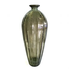 Glassvase etnico sot Ø22xH56cm