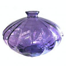 Glassvase etnico lilla Ø36xH28cm