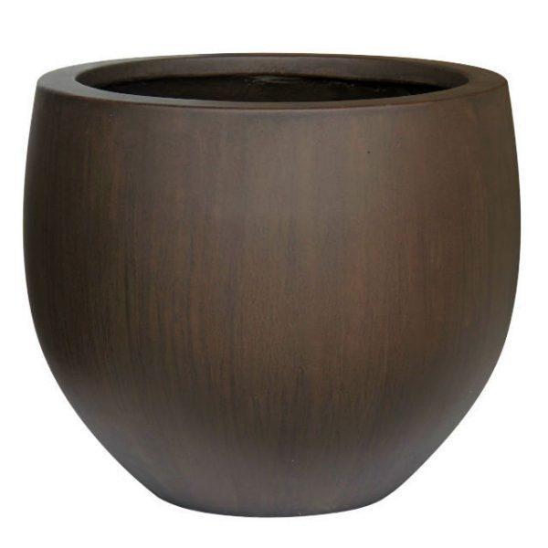 Potte RP sjokko ficonstone brunsort Ø53xH45cm