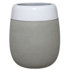 Potte edge blank ficonstone hvit/cement Ø54xH66cm