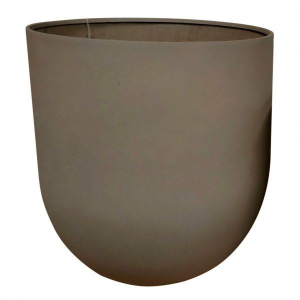 Potte XL rund sandstone brun Ø114xH125cm