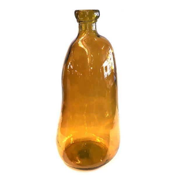 Glassvase karamell H51cm
