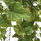 Kunstig cotton hengeplante gul/grønn L170cm u/potte