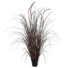 Kunstig gress plante elvegress burgunder H120cm