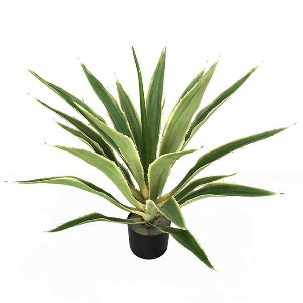 Kunstig aloehola plante lysgrønn H70cm