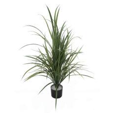 Kunstig agave plante reedgress grønn H105cm