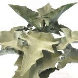 Kunstig alocasia plante på stamme støvet H90cm