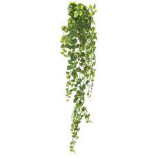 Kunstig gullranke hengeplante småbladet 180cm u/potte