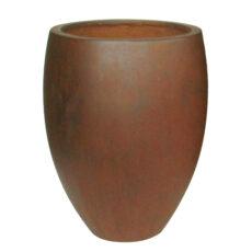 Potte cone rust ficonstone rødbrun Ø48xH62cm