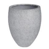 Potte cone betong ficonstone lys grå Ø67xH85cm