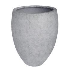 Potte cone betong ficonstone lys grå Ø35xH46cm