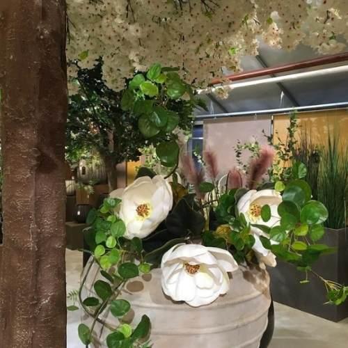 Kunstige planter utendørs