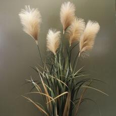 Kunstig gress plante pampas beige/gul H120cm