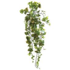 Kunstig cotton hengeplante mørk grønn L100cm u/potte